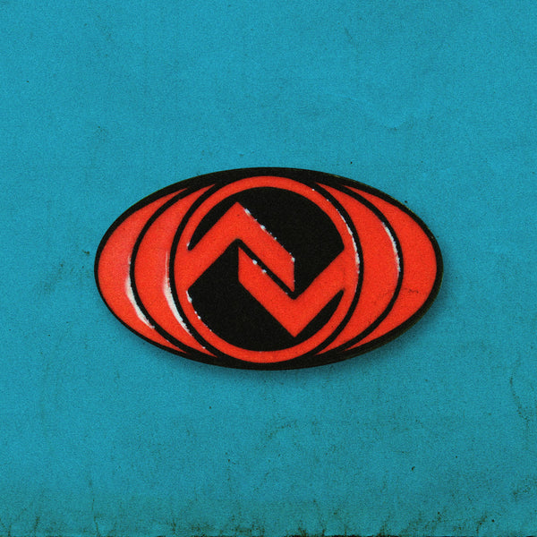 Red Emblem Pin
