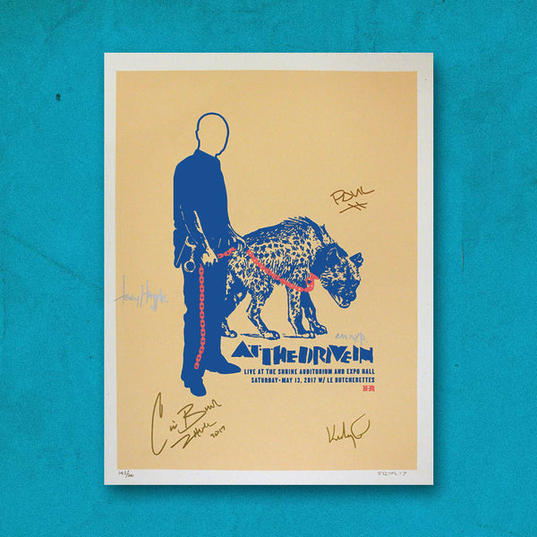 Limited Shrine Auditorium Signed Print