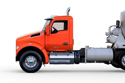 Kenworth T880 with New Set-Forward Configuration