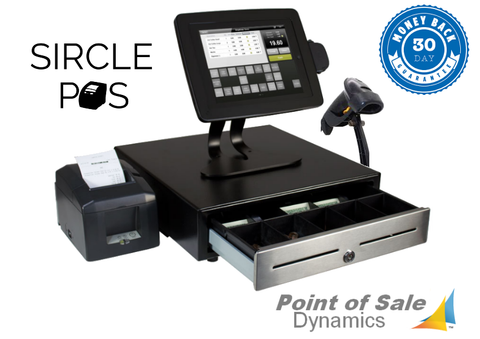Retail Tablet Point of Sale Bundle Featuring Sircle POS