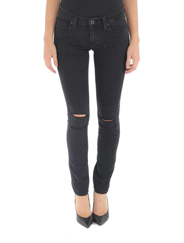 Paige - Verdugo Ultra Skinny in Joannie Destructed