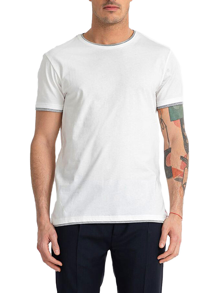 DOUBLE LAYER TSHIRT - MANUEL RITZ