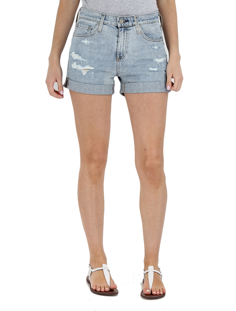 Hailey Short in 21 Years Reflection Destructed - AG JEANS