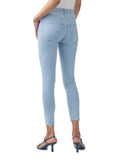 Sophie Hi Rise Skinny Crop in Parallel - AGOLDE