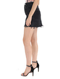Quinn High Rise Mini Skirt in Cult - AGOLDE