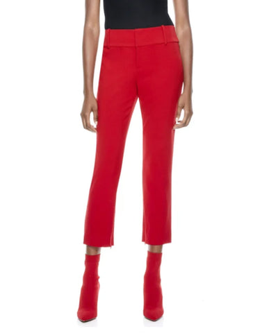 Stacey Slim Ankle Pant - ALICE AND OLIVIA