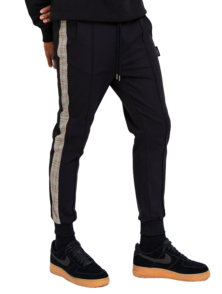 BE DOMINIK STRIPE TRACK PANT - BE EDGY