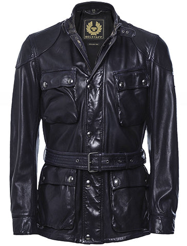 TRAILMASTER PANTHER IN LEATHER - BELSTAFF