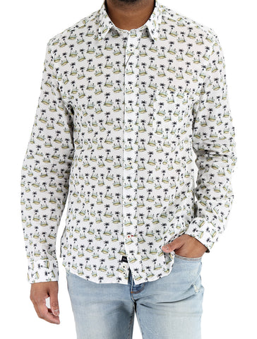 Cotton Printed Shirt - BENSON