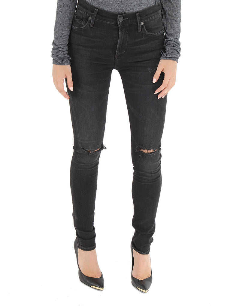 Rocket High Rise Skinny in Distressed Darkness - CITIZENS OF HUMANITY