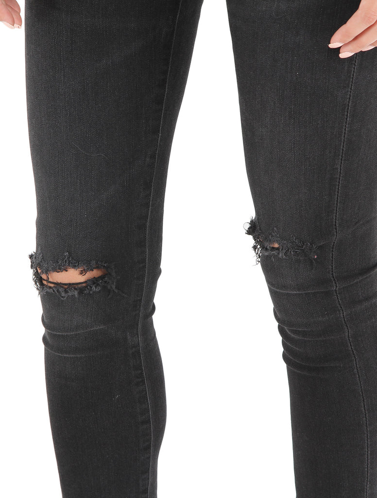 19a89edb8f7 Rocket High Rise Skinny in Distressed Darkness - CITIZENS OF HUMANITY