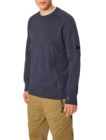 LIGHT FLEECE CREWNECK - CP COMPANY