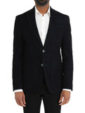 Crosshatch Velour Blazer - DEBONAIR