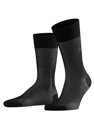 FINE SHADOW DRESS SOCK - FALKE