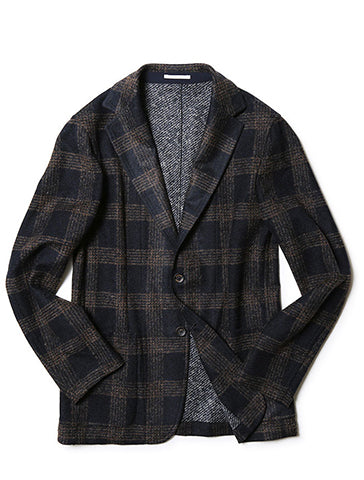 POST CHECK SOFT BLAZER - FRADI