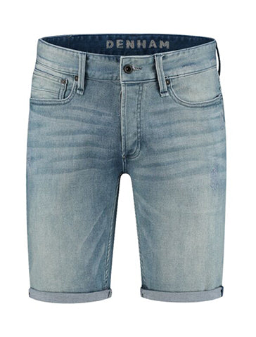 RAZOR DENIM SHORTS - DENHAM