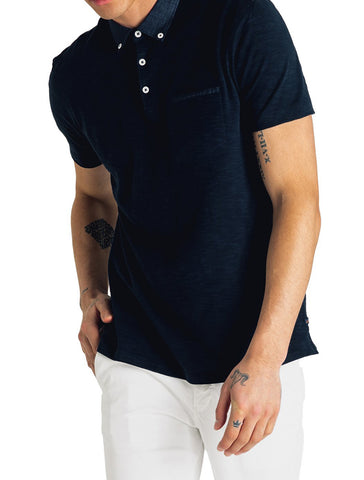 Soft Slub Jersey Polo - GOODMAN