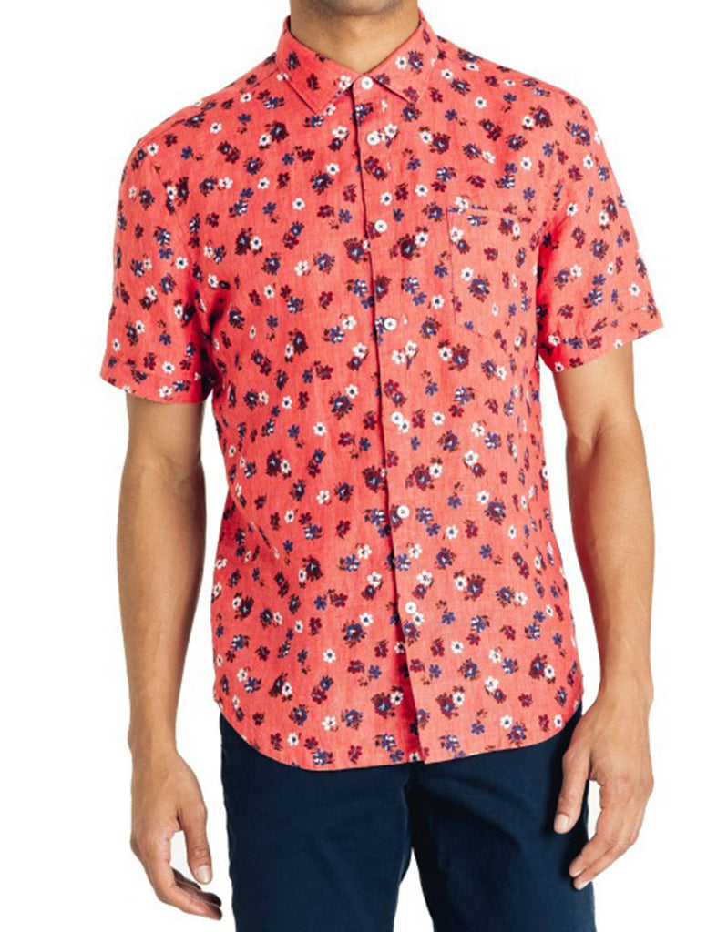 Aloha Floral Point Collar Shirt - GOODMAN