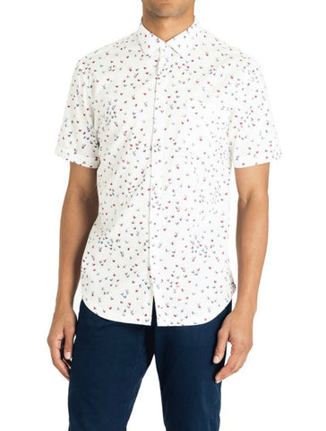 Micro Butterfly Point Collar Shirt - GOODMAN