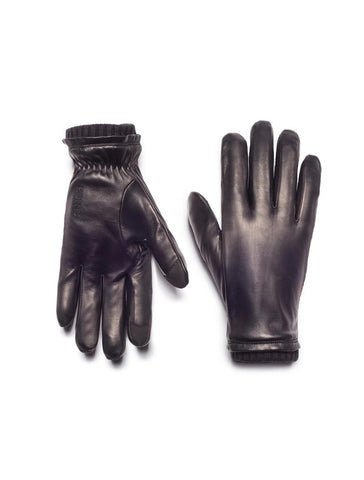 Oliver Touchscreen Gloves in Noir - HONNS