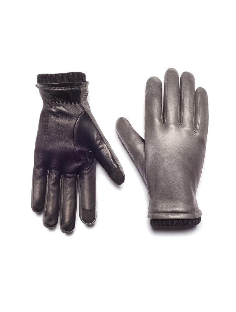 Oliver Touchscreen Gloves in Wolf Grey - HONNS
