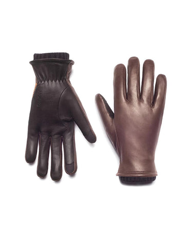 Oliver Touchscreen Gloves in Mocha - HONNS
