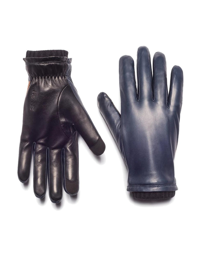 Oliver Touchscreen Gloves in Navy - HONNS
