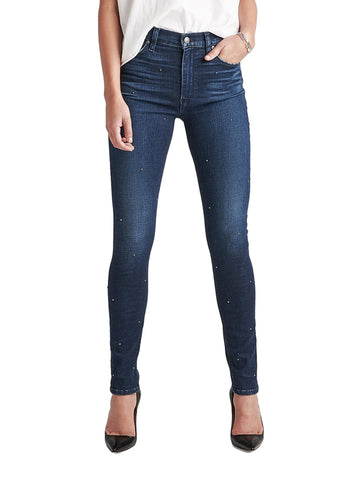 Barbara High Rise Super Skinny in Zinc - HUDSON JEANS