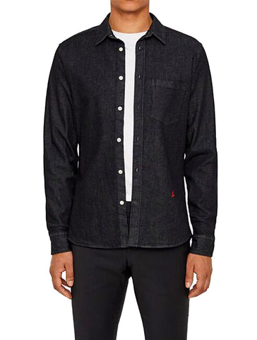 DANIEL STRETCH DENIM SHIRT - J. LINDEBERG