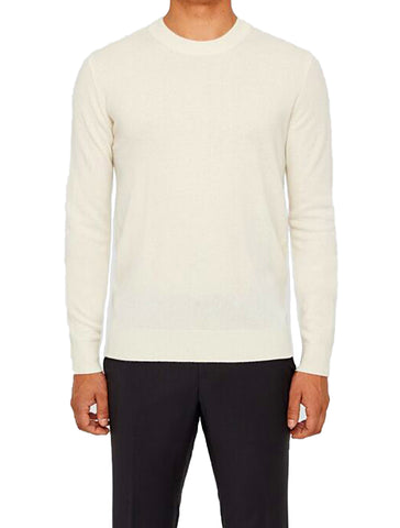 LIGHT CASHMERE KNIT CREWNECK - J. LINDEBERG