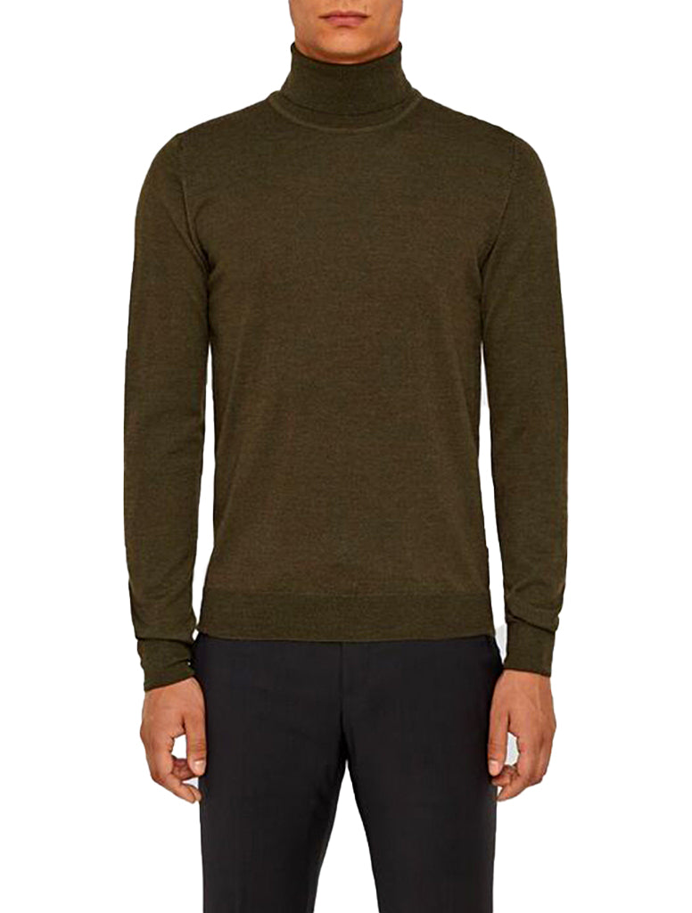 TRUE MERINO TURTLENECK - J. LINDEBERG