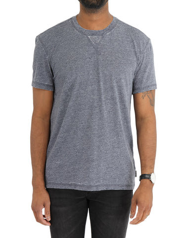 Burnout Stitch Collar Tee - JOHN VARVATOS