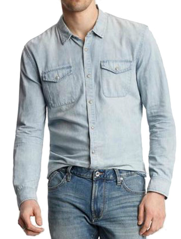 Marshall Denim Shirt - JOHN VARVATOS