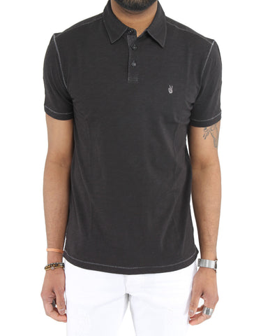 Soft Collar Peace Polo - JOHN VARVATOS