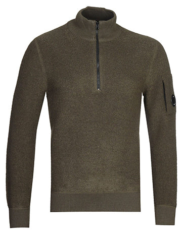 KNIT QUARTER ZIP - CP COMPANY