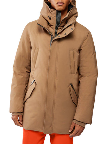 DOWN JACKET WITH BIB AND HOOD - MACKAGE