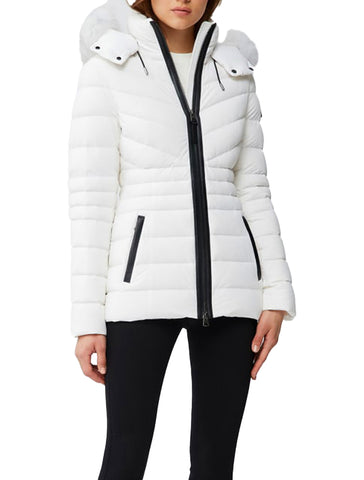Patsy Light Down Jacket + Fur - MACKAGE