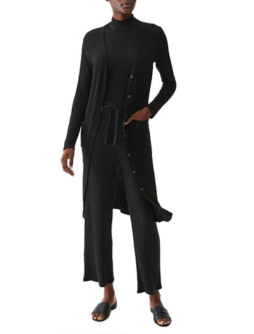 Ella V Neck Long Cardigan - MICHAEL STARS