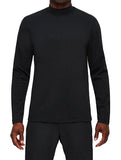 BRUSHED INTERLOCK HIGH NECK PULLOVER - REIGNING CHAMP