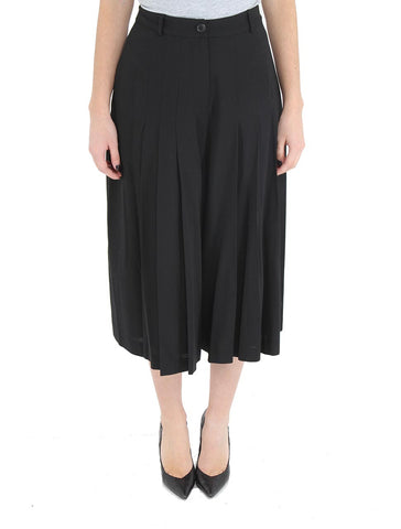 Pleated Wide Leg Pants - R/R STUDIO