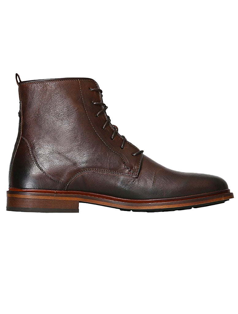 NED LEATHER LACE BOOT - SHOE THE BEAR