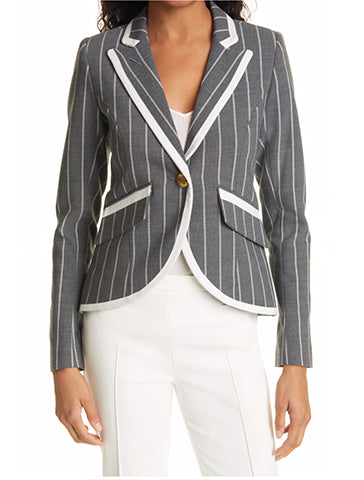 Taped One Button Blazer - SMYTHE