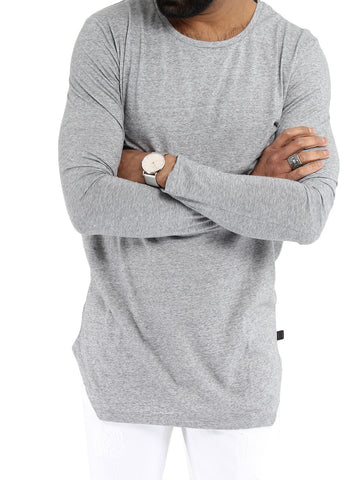 Grit Long Sleeve Crewneck - TIGER JEANS