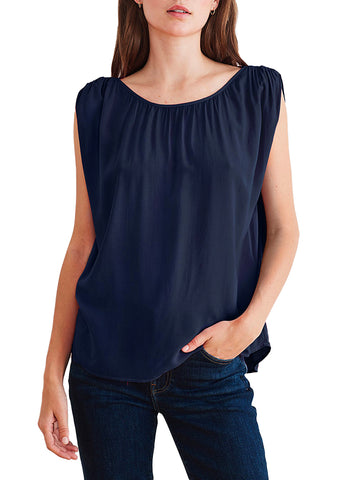 Rayon Challis Sleeveless Top - VELVET