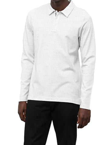 SIGNALS LONG SLEEVE POLO - WINGS + HORNS