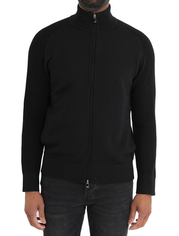 Full Zip Wool Sweater - Z ZEGNA
