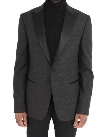 Satin Lapel Formal Jacket - Z ZEGNA