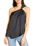 Tiki Satin One Shoulder Top - ZADIG & VOLTAIRE