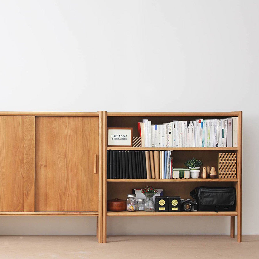 Dinsor Bookshelf Without Slide Door
