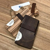 KOHARAMOKKOU - WOOD CARD HOLDER
